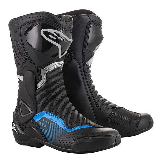 Alpinestars SMX 6 V2 Boots - Black/Blue