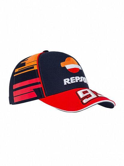 Official Marc Marquez 93 Dual Repsol Honda Baseball Cap