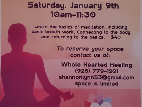 Meditation Basics Workshop