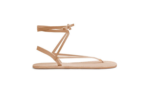 San sandal (leather tan)
