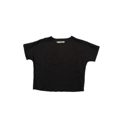 Vaļīgs linu krekls (coal)