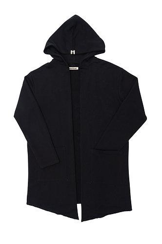 Hooded jacket (charcoal)