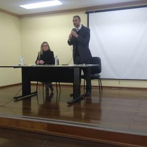 Palestra na Faculdade Monteiro Lobato