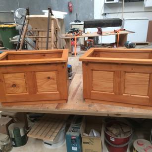 Planter Boxes Double