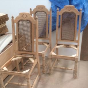Jacobean Rattan Chairs