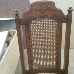 Jacobean Rattan Chair