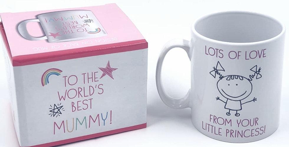 Celebrations To The World's Best Mummy Mug