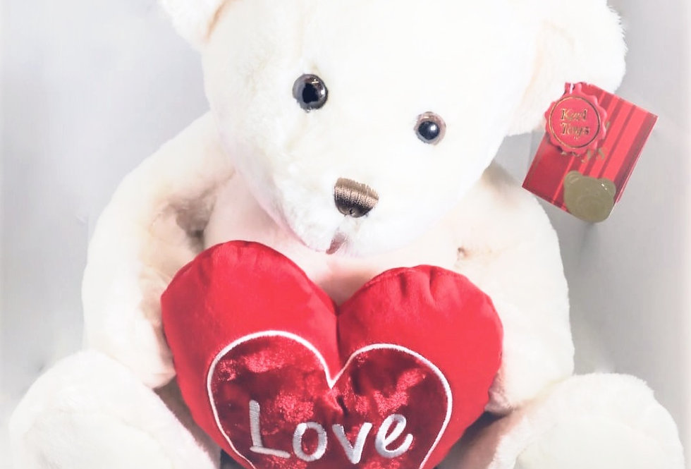 Chester Bear With Heart