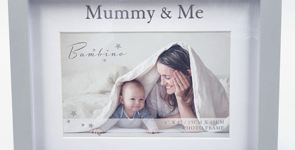 Bambino Mummy & Me Photo Frame