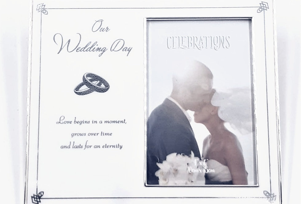 Celebration Wedding Day Photo Frame
