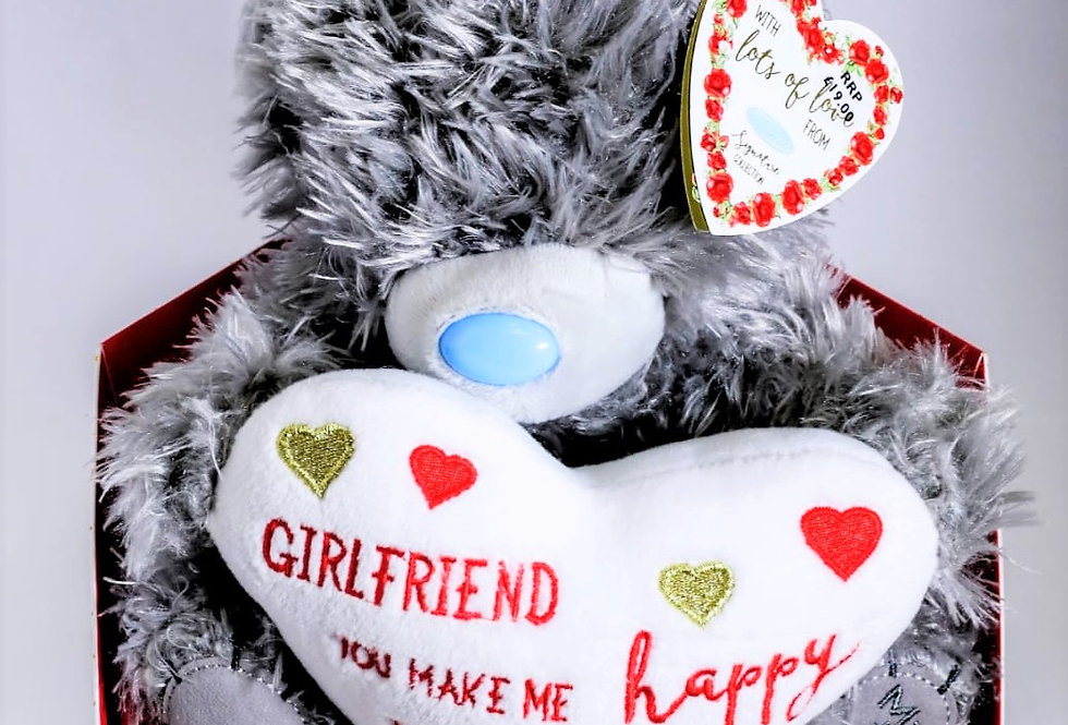 Make Me Happy Teddy Bear