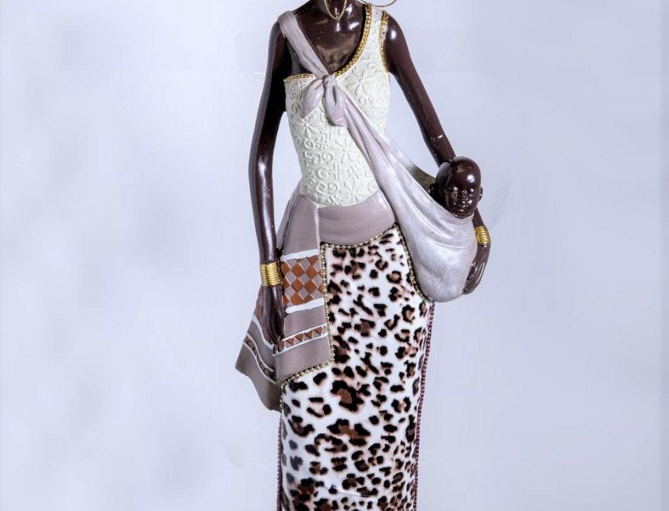 Juliana Collection Massai Lady Baby Figurine