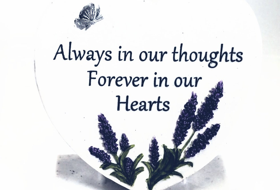 Always in our thoughts - Graveside Ornament