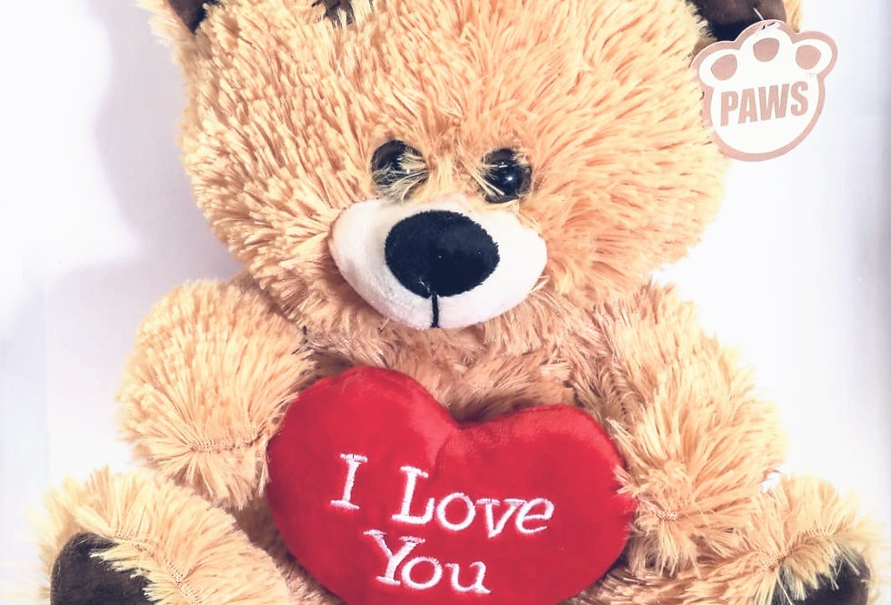 Brown Teddy Bear With Heart