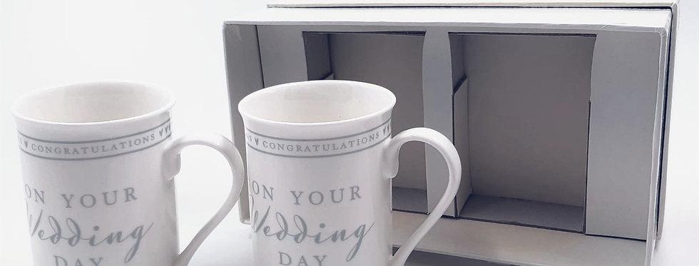 Mr & Mrs Wedding Mugs