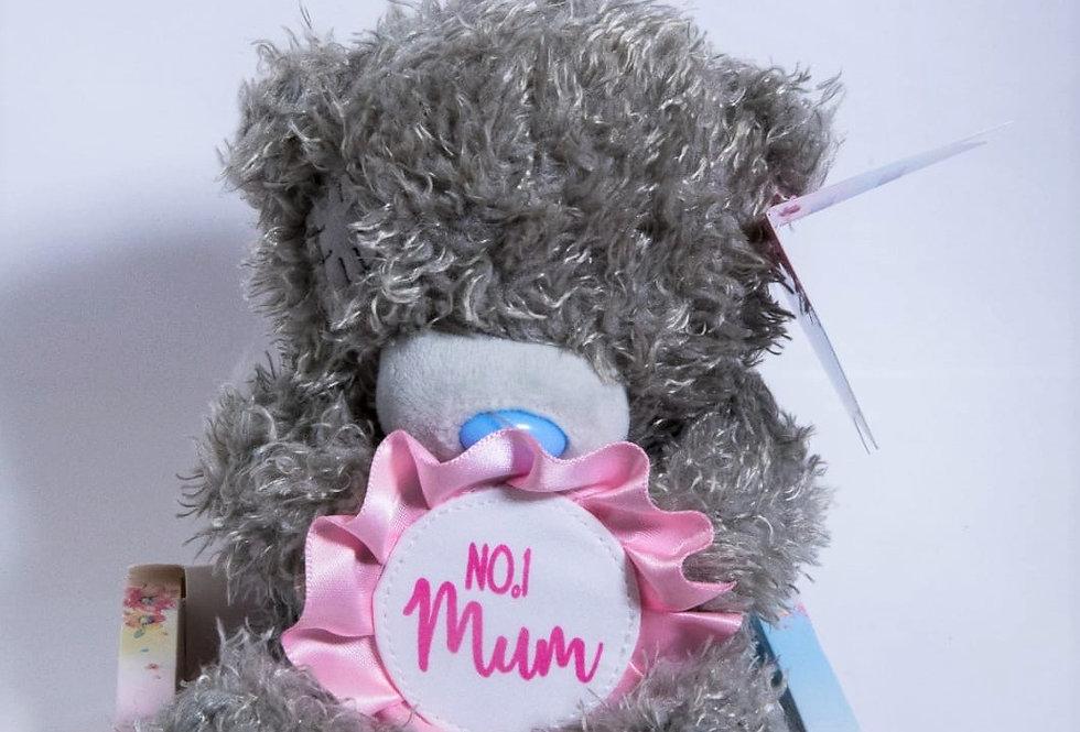 No.1 Mum Teddy Bear
