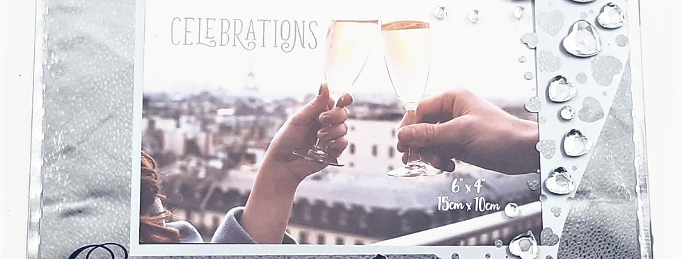 Celebration Engagement Picture Frame