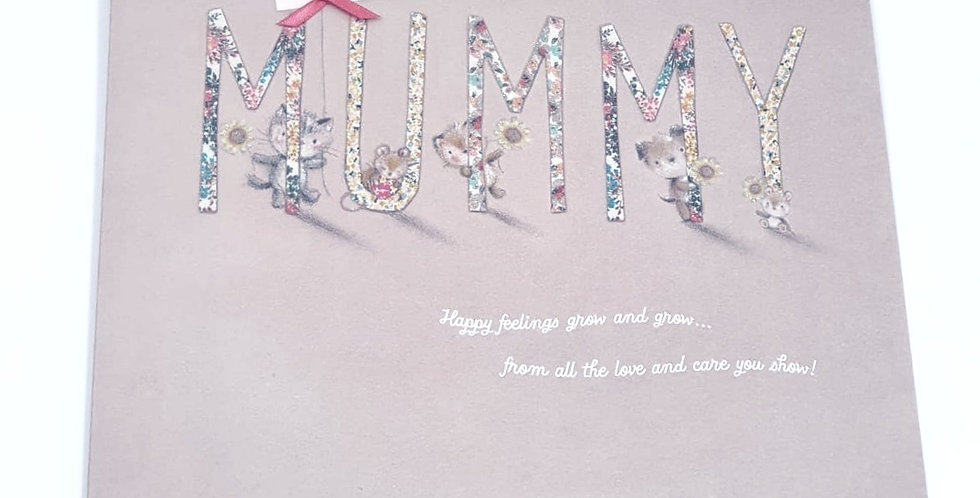 Very Special Mummy Card