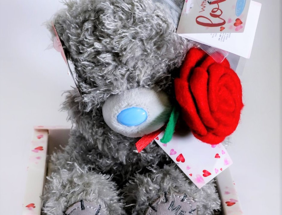 With Love Teddy Bear