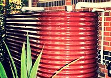 Green Plumbing - Rainwater Tank Installation