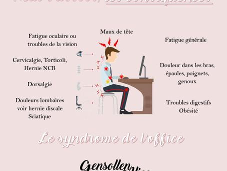 Position Assise Ergonomie et Ostéopathie