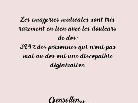 Discopathie dégénérative et imageries médicales