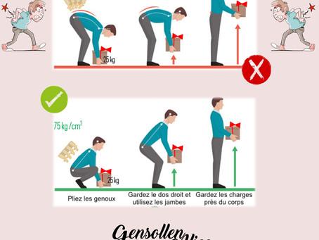Bonne posture afin de bien porter - Ostéopathie et bonnes habitudes contre le mal de dos