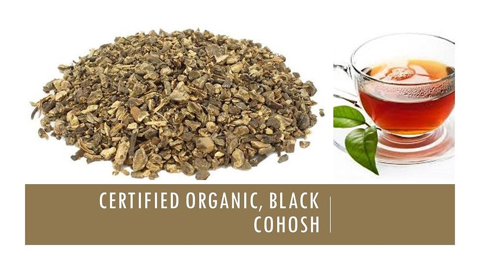 Black Cohosh Root, Certified Organic