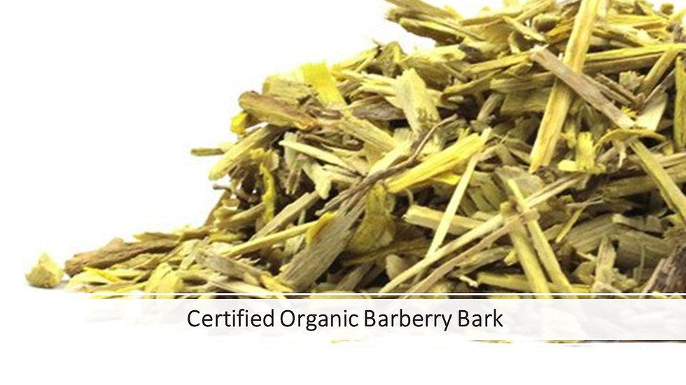 Barberry Bark, Certified Organic