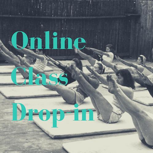 Online Class Drop-in