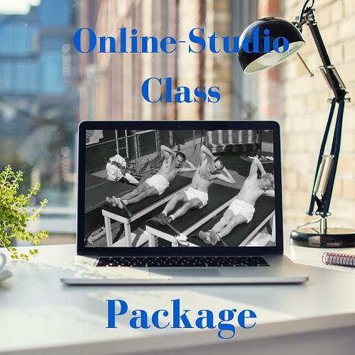 Monthly Online/Studio Class Package