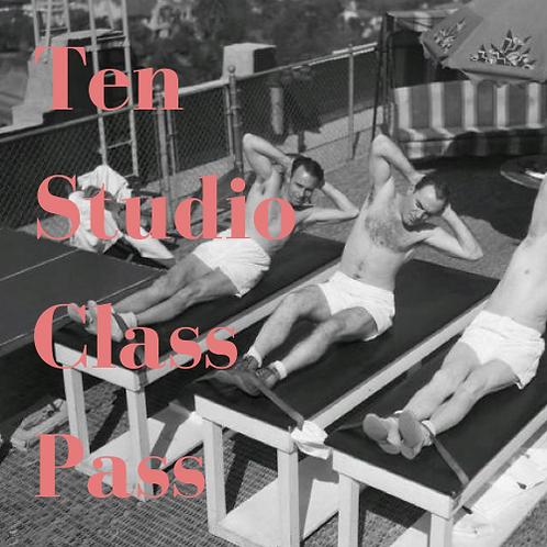 10 Studio Class Pass
