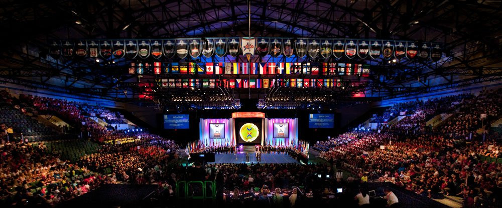 Cheerleading Performance Competition Worlds