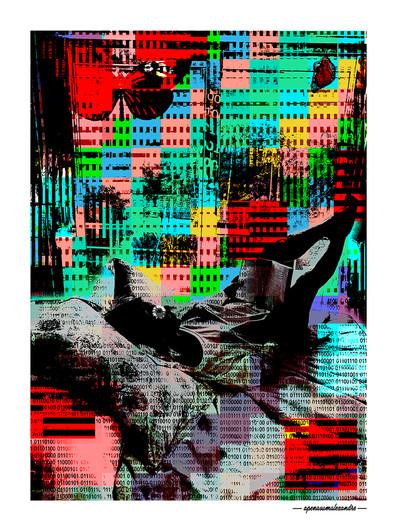 ARTE N.18 - ENTRE QUATRO PAREDES – CASULOS– 2020 – FINE ART – 67,5 x 90 cm