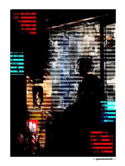ARTE N.14 - ENTRE QUATRO PAREDES – SOLITUDE– 2020 – FINE ART - 67,5 x 90 cm