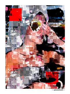ARTE N.9 - ENTRE QUATRO PAREDES – SUNDAY MORNING– 2020 – FINE ART - 67,5 x 90 cm