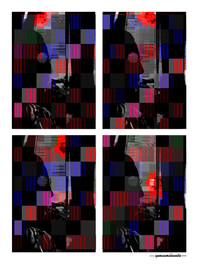 ARTE N.4 - ENTRE QUATRO PAREDES – PROGRESSÃO DIÁRIA – 2020 – FINE ART - 67,5 x 90 cm