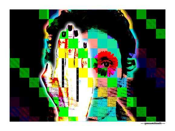 ARTE N.3 - ENTRE QUATRO PAREDES – SHIELD – 2020 – FINE ART - 67,5 x 90 cm