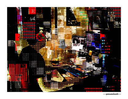 ARTE N.35 - ENTRE 4 PAREDES – MAESTRO – 2020 – FINE ART – 90 X 70 cm
