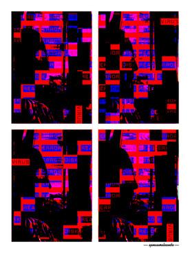 ARTE N.6 - ENTRE QUATRO PAREDES – CRASH SYSTEM– 2020 – FINE ART - 67,5 x 90 cm