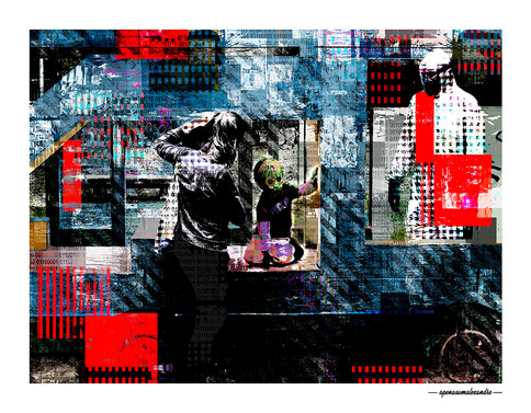 ARTE N.31 - ENTRE 4 PAREDES – PLAY – 2020 – FINE ART – 70 X 90 cm