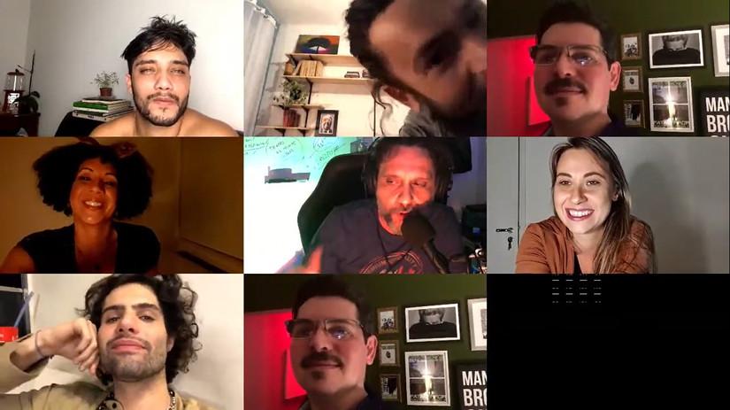screenshots da sessão de 15/08