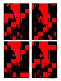 ARTE N.5 - ENTRE QUATRO PAREDES – DEFRAG 2 – 2020 – FINE ART - 67,5 x 90 cm