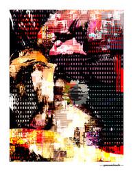 ARTE N.33 - ENTRE 4 PAREDES – LOVE EM PIXEL 2 – 2020 – FINE ART – 70 X 90 cm