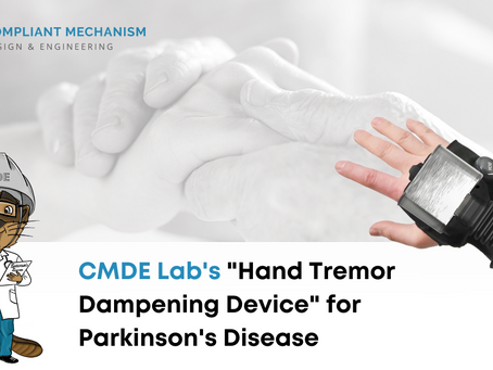 HAND TREMOR DAMPENING DEVICE
