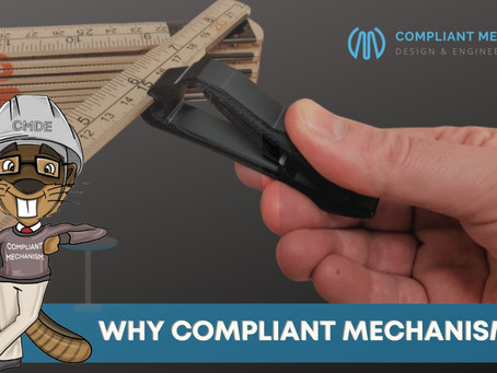 Why Compliant Mechanisms?