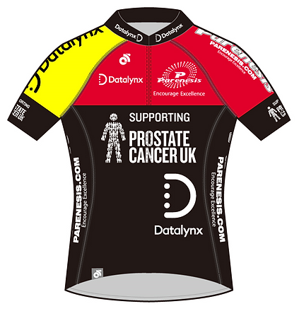 Datalynx-Parenesis Cycling Jersey Front.