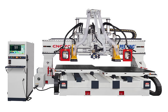 Twin Table CNC Router  CNC MACHING CENTER