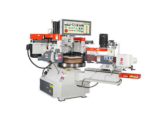 LH-40-TC-S  AUTO. COPY SHAPING MACHINE-TWO CUTTER HEADS WITH SANDING ATTACHMENT