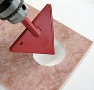三角鑽瓷磚孔刀